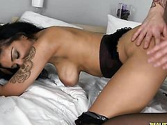 Piercings Mai Bailey is in heat in steamy oral action with hot guy