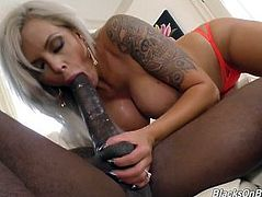 Nina Elle Gets Stuffed By BBC