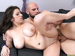 Piercings Krista James makes dudes rock solid schlong disappear in her mouth in sexual ecstasy