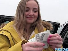 Public Agent Innocent Babe Paid for Sex