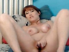 Nasty Sweetheart Engulfing Vibrator and Masturbate Hard