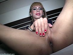 She started things off with a little foreplay. She wanted my cock to be as hard as it could be, before I shoved it in her ass. I plowed her tight asshole and she let out a loud moan, as I put my cock head inside her bum.