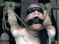lydia black loves being blindfolded and mouth gagged