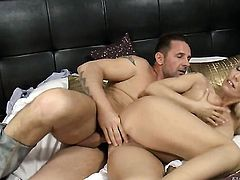Stella E just loves to blow and cant say No to her hot fuck buddy David Perry after she takes it in