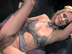 Blonde vixen with incredible bazooms, Jessica Drake is a freak when it comes to missionary. She gets her beaver eaten up before she gets banged in that missionary position she loves so much
