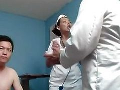Cuckold humiliation scene in hospital- More On HDMilfCam,com
