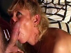 Blonde MILF Gets Fucked In Her Tight Ass 1