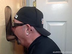 This scene has me sucking the dick of a Latin daddy, who is enjoying the pleasure of my moist and warm mouth around his cock. I give him the full treatment, edging the man until his knees are weak. Then I treat myself to a mouth full of his warm cum, and swallow.