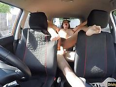 Seductive brunette babe Cassidy Klein railed by instructor