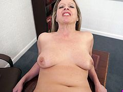 Addicted to semen whore Lou Pierce gives the best ever blowjob on a pov camera