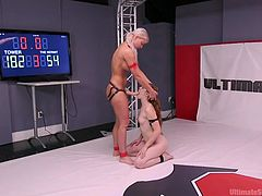 The winner fucks the loser. Here in this club the rules are simple. That's why my advice is simple, if you do not want to get your tight pussy brutally fucked by a huge strapon, fight to the last breath. Join and enjoy!