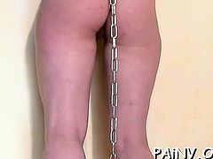 Cunt torture session for a dirty slut who likes it rough