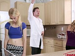 Anastasia Knight And Tucker Stevens in Weird Family Sex Science