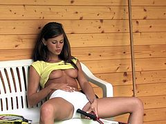 Little Caprice Erotic Tennis Photoshoot