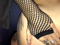 Young milf loves cock crammed in her ass