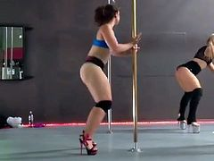 Pawg at Pole Dancing Class