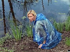 Tori was lost by the stream when two masked men approach her.