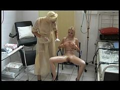 The RC - Transparent Rubber Piss and Wank Catheter