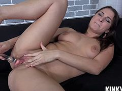 Shaved pussy pornstar piss and cumshot
