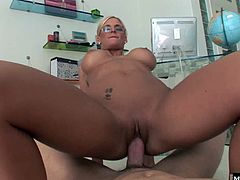 Her big tits have dark nipples that she shows off for you, as she strips out of her black dress. Phoenix gets naked and drops to her knees to jerk you off and suck your dick POV style. You get to use all of her holes in this scene that puts your cock in the drivers seat