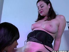 Two sex-hungry girlfriends fuck each other like nobody else before