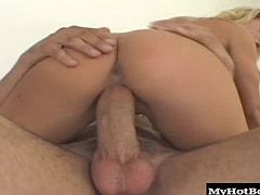 Bree likes all kinds of raunch like that, as well as sessions of anal sex in which she can feel her costars balls slapping against her pussy while its getting buried in her ass.