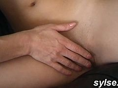 Amateur Teen: her first 3way with MILF and old man
