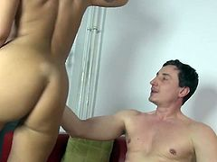 Dirty mature mother seduced by young son