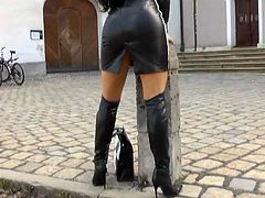 Girls in leather 9