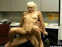 British blonde babe Layla Jade inspires lust in all the guys she meets