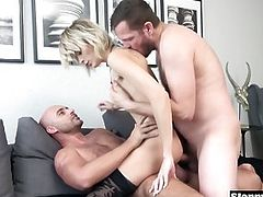 DP and Double Anal Belle Claire, Ria Sunn, Kristy Black