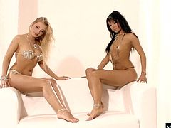 So whenever they get the chance, these horny lesbians strip down to their skimpiest bikinis for some quality girl on girl action. The feeling of shaved skin is such a relief for these females, and some face squatting is enough to make them cum