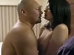 The story is simply about a Japanese husband wanting to watch his wife being fucked by another man.
