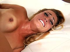 Hot & Sexy Blonde Beauty Gets Fucked Hard in the Ass