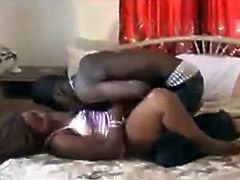 African girl wants to lick the wet vagina of her girlfriend