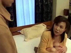40yr Hairy Step mom Sucks Fucks her Step son Uncensored - Watch Part2 on PORNAVA.COM