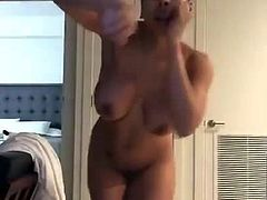 nude sexy girl dancing on drake's song