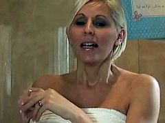 Kelly Hart and Jan Burton - Pregnant shaving and shower