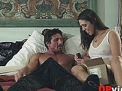 Anna Morna with horny guy