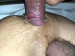 Daddy breeds boy with fat cock