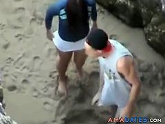 Young couple teens couple small doggystyle