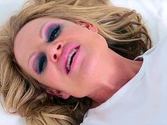 Kelly Madison is a stunning blonde whose pussy is all a guy craves