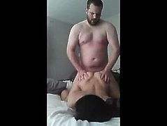 Amateur Asian Slut Rides Cock Until She Busts a Nut!