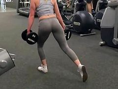 Ivana in the gym