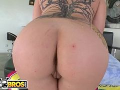 BANGBROS - Sexy PAWG Casey Cumz Takes Anal From Chris Strokes