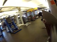 jacking in my pants at the gym 2