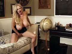 Kelly Madison is a sexy teacher who loves getting naked