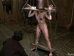 olivia michael tightly restrained and made to cum