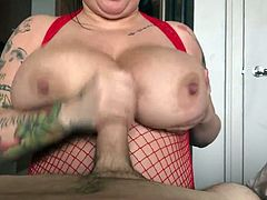 Brandy Talore Fan Titty Fuck 5
