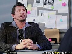 Brazzers - Hot And Mean - Nikki Benz and Summer Brielle -  V